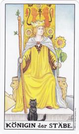 Königin der Stäbe, Tarot, Stärke, Lebendigkeit entbinden