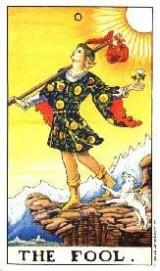 Der Narr, Tarot, Kartenlegen