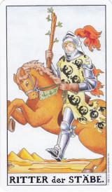 Ritter der Stäbe, Tarot, Abenteuer, Energie