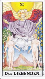 Die Liebenden, Tarotkarte, Universaltarot
