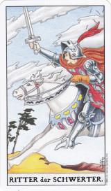 Ritter der Schwerter, Tarot