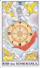 Rad des Schicksals, Tarot, Wassermann