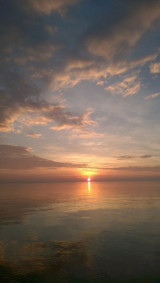 Sonnenuntergang, Übergänge gestalten