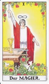 Der Magier, die Tarot Aufgabe des Monats
