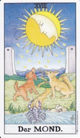Der Mond,  Kartenlegen, Tarot, Lenormand, Traumarbeit, Astrologie, Psychologische Beratung, Yshouk Ursula Kirsch