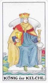 König der Kelche, Tarot, Hofkarte