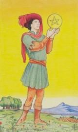 Bube der Münzen, Tarot, astrologische Beratung