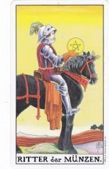 Ritter der Münzen, Tarot, Monatsaufgabe